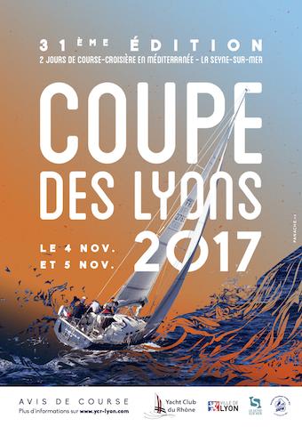 affiche coupe des Lyons 2017